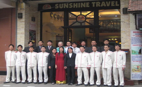 Vietnam sunshine travel staff
