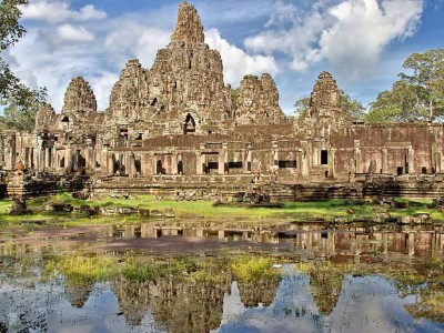Package tours start from Cambodia