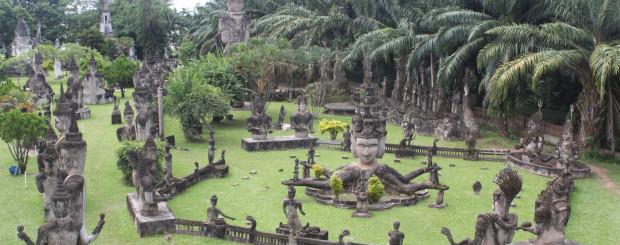 Vientiane city in Laos