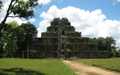 Prasat Koh Ker in Cambodia
